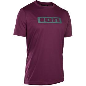 ION Scrub Koszulka kolarska, krótki rękaw Mężczyźni, pink isover